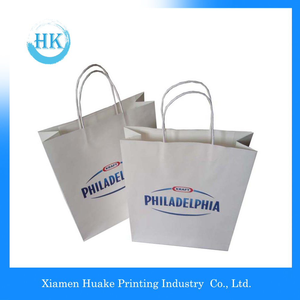 Printed Paper Gift Bags For Candy and Shopping