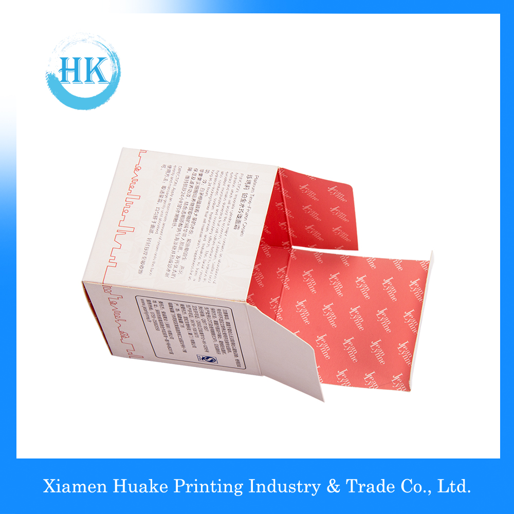 Luxury Paper Packaging Cosmetic Creams Square Box