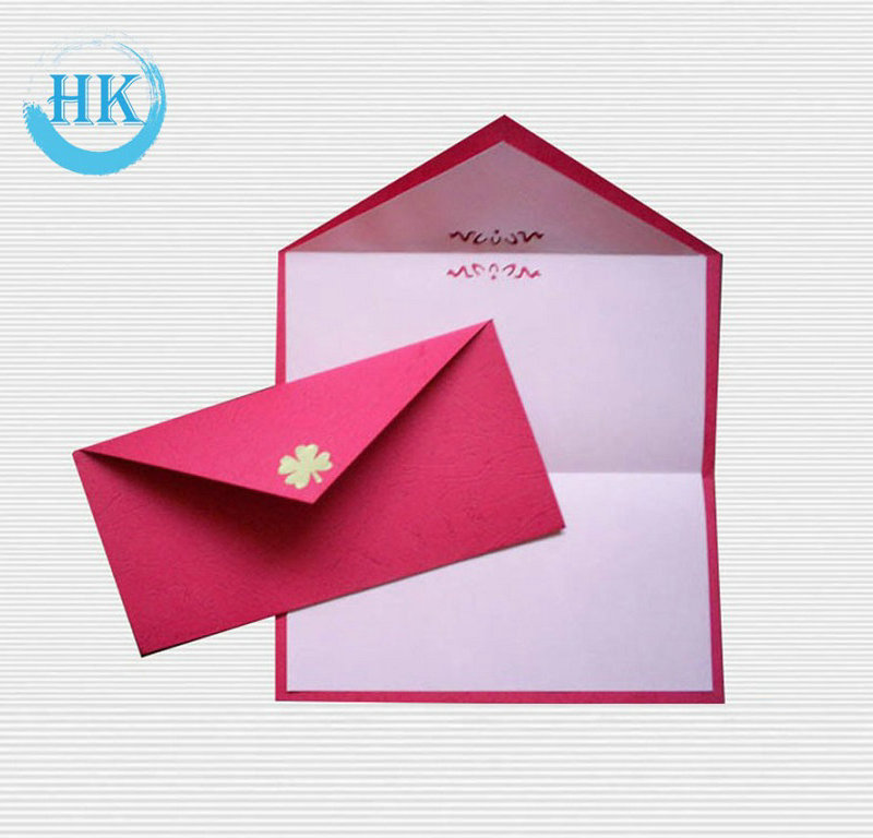 Wallet style C5 Envelope