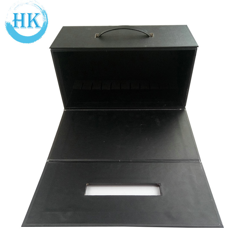 Box With Black Handle