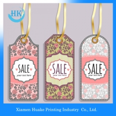 Cardboard Labels Clothing Hang Tags Huake Printing