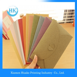 Coloured And Small Size Craft Paper Envelope