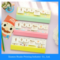 Yearly/Monthly/Weekly Paper Business Calendar Huake Printing