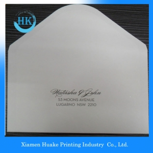 Banker Style Business Envelopes With  Logo