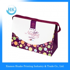 CYMK handle paper tote bag box Huake Printing