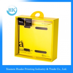 PVC  Window Packaging Box Top Genuing Leather