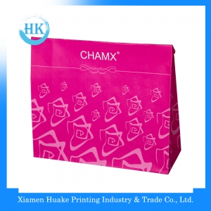 Factory hotsell paper bag cosmetic packaging
