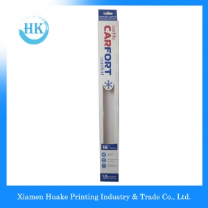 Long Wiper Paper Packing Box With PVC Window
