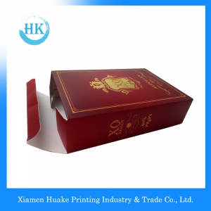White Card Package Wine Box
