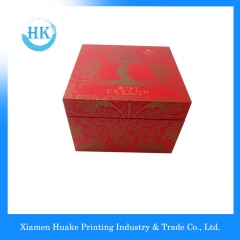 Rigid Display Packaging Box With Ribbon