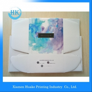 CMYK Print Foldable Mailing Box With Lamination Inside And Outside