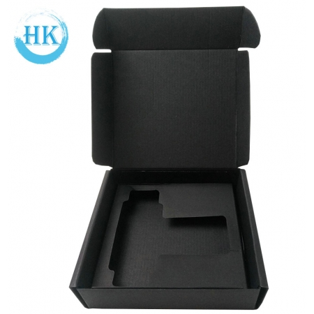 Black Card Gift Box with Insert for Electronic Products