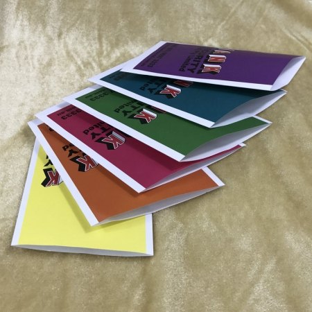 Printed Colored Envelopes