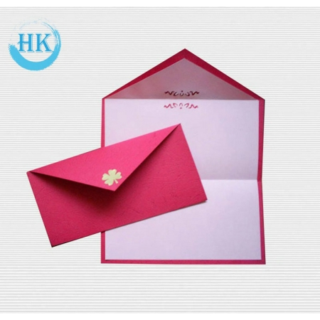 Envelope with Gold Foiling