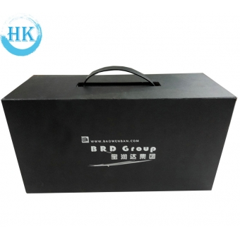 Hardcover Box With Black Handle