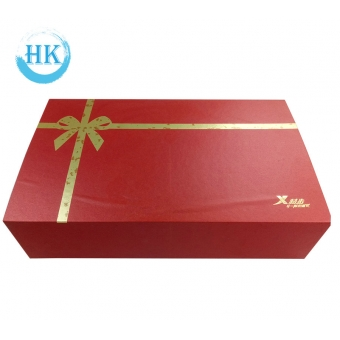 Folding Gift Box with Magnet Closure
