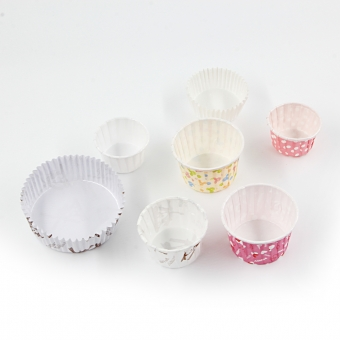 disposable paper souffle portion cup
